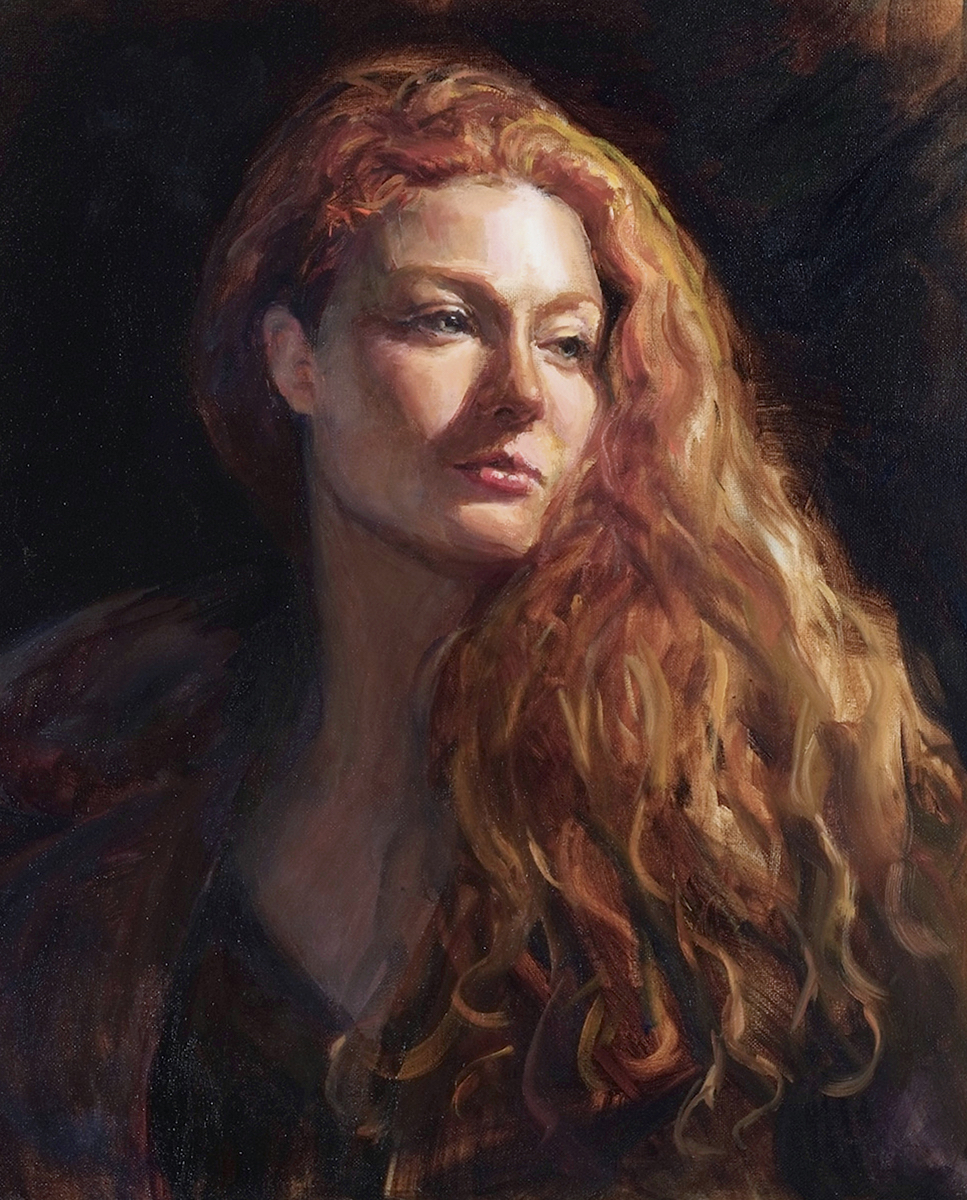 Fall 2019 The Classical Oil Portrait Class Linda Harris